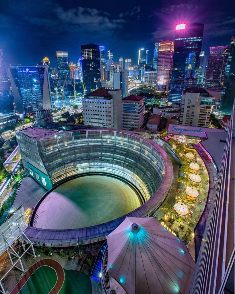 19 Tempat Terbaik Untuk Menikmati Pemandangan Malam Di Jakarta
